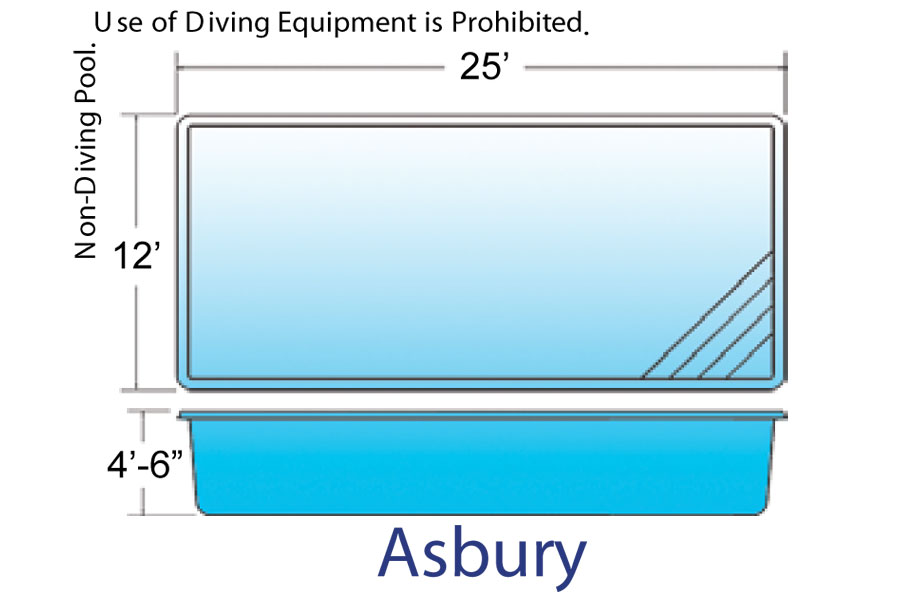 Asbury Rectangle pool designs by Hawaiian Pools with Caribbean Pools on the Outer Banks NC