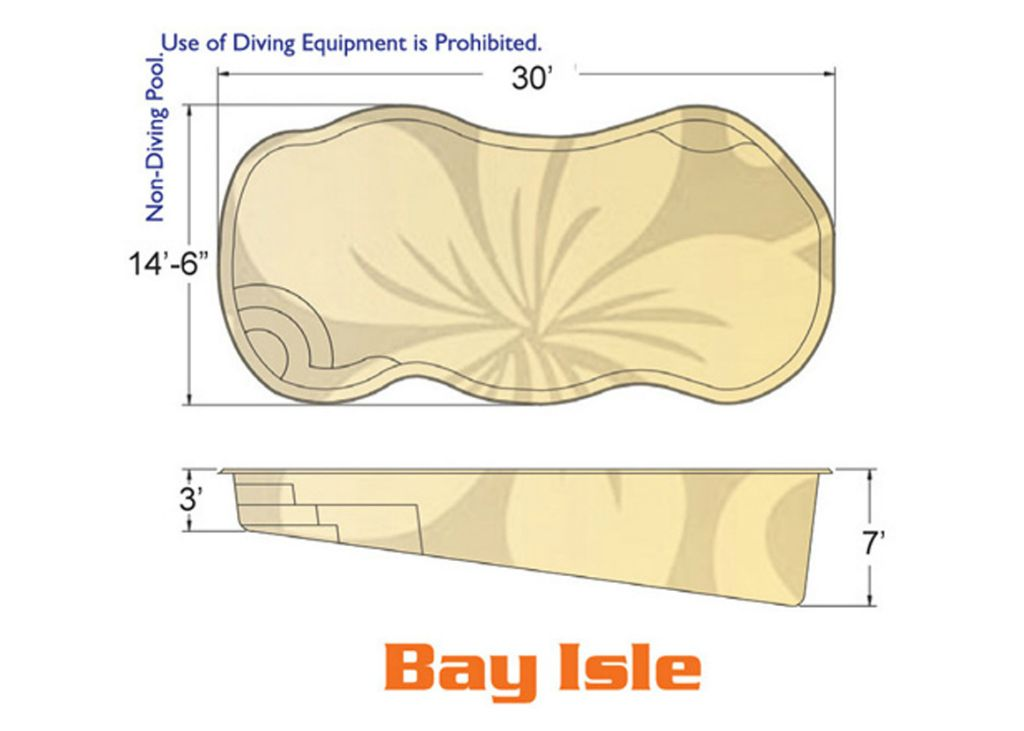 Bay Isle Natural pool designs by Hawaiian Pools with Caribbean Pools on the Outer Banks NC