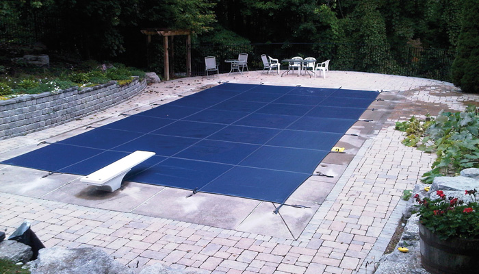 Outer Banks Pool Safety Covers, Coverstar, Latham Products, mesh or solid