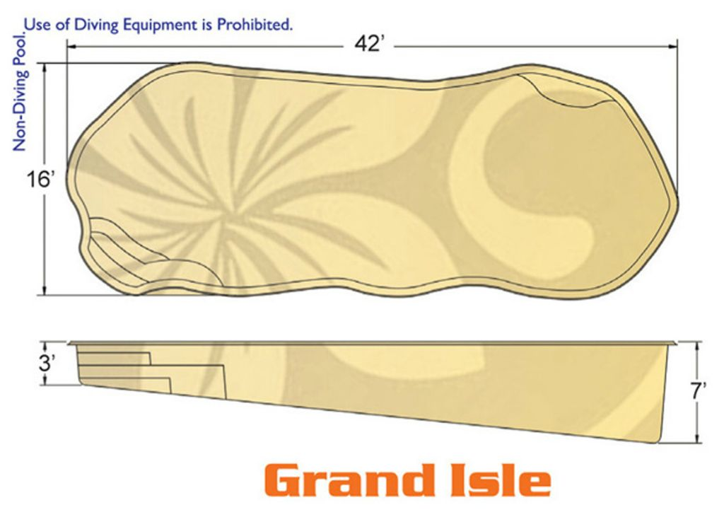 Grand Isle Natural pool designs by Hawaiian Pools with Caribbean Pools on the Outer Banks NC