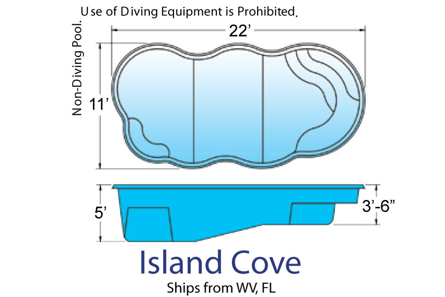 Island Cove Natural pool designs by Hawaiian Pools with Caribbean Pools on the Outer Banks NC