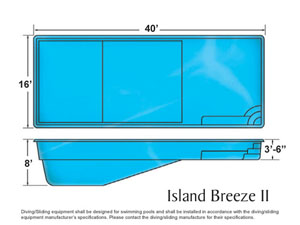 Island Breeze ll Rectangle Shape Pool Designs with Caribbean Pools on the Outer Banks NC