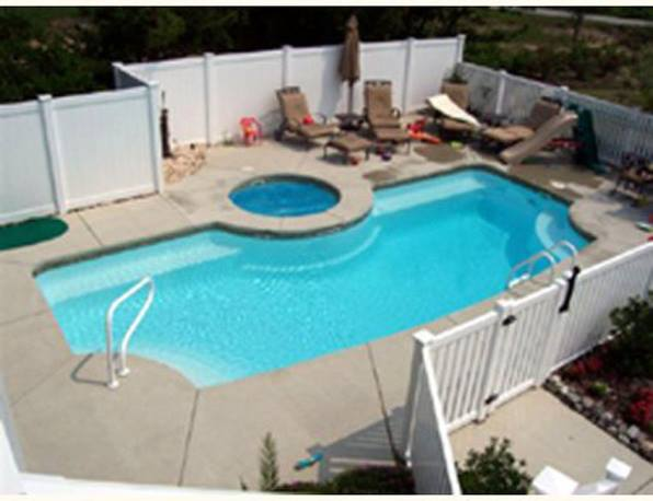 Outer Banks Pool Installation