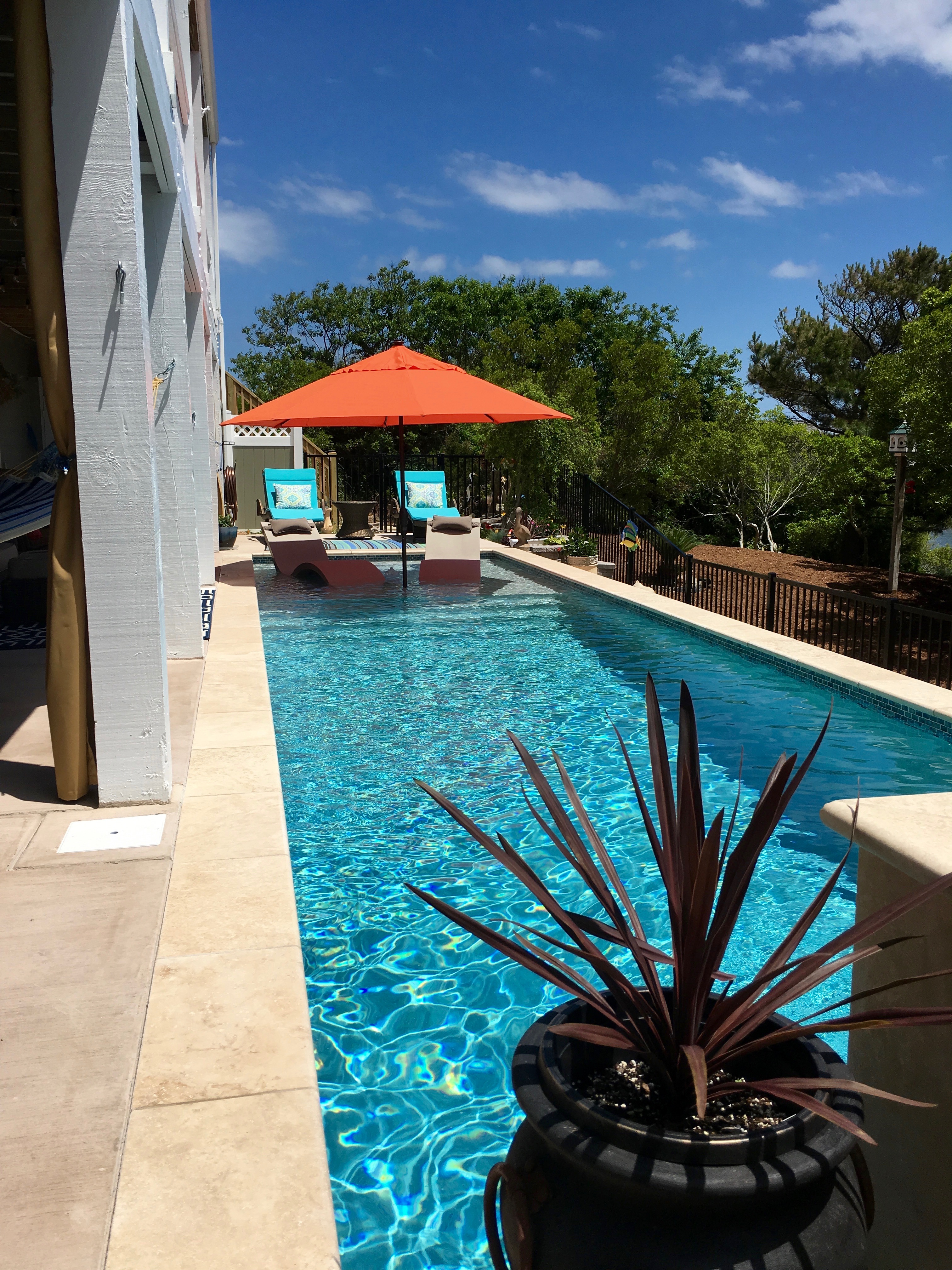 Nags Head Concrete Pool by Caribbean Pools